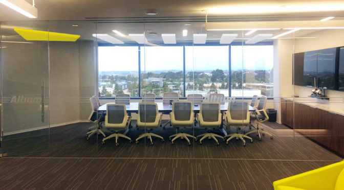 Conference Room with acoustical treatment in San Diego